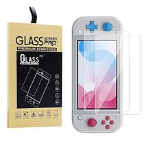 Закаленное защитное стекло Ricoddaa для Nintendo Switch Lite / Есть чехлы