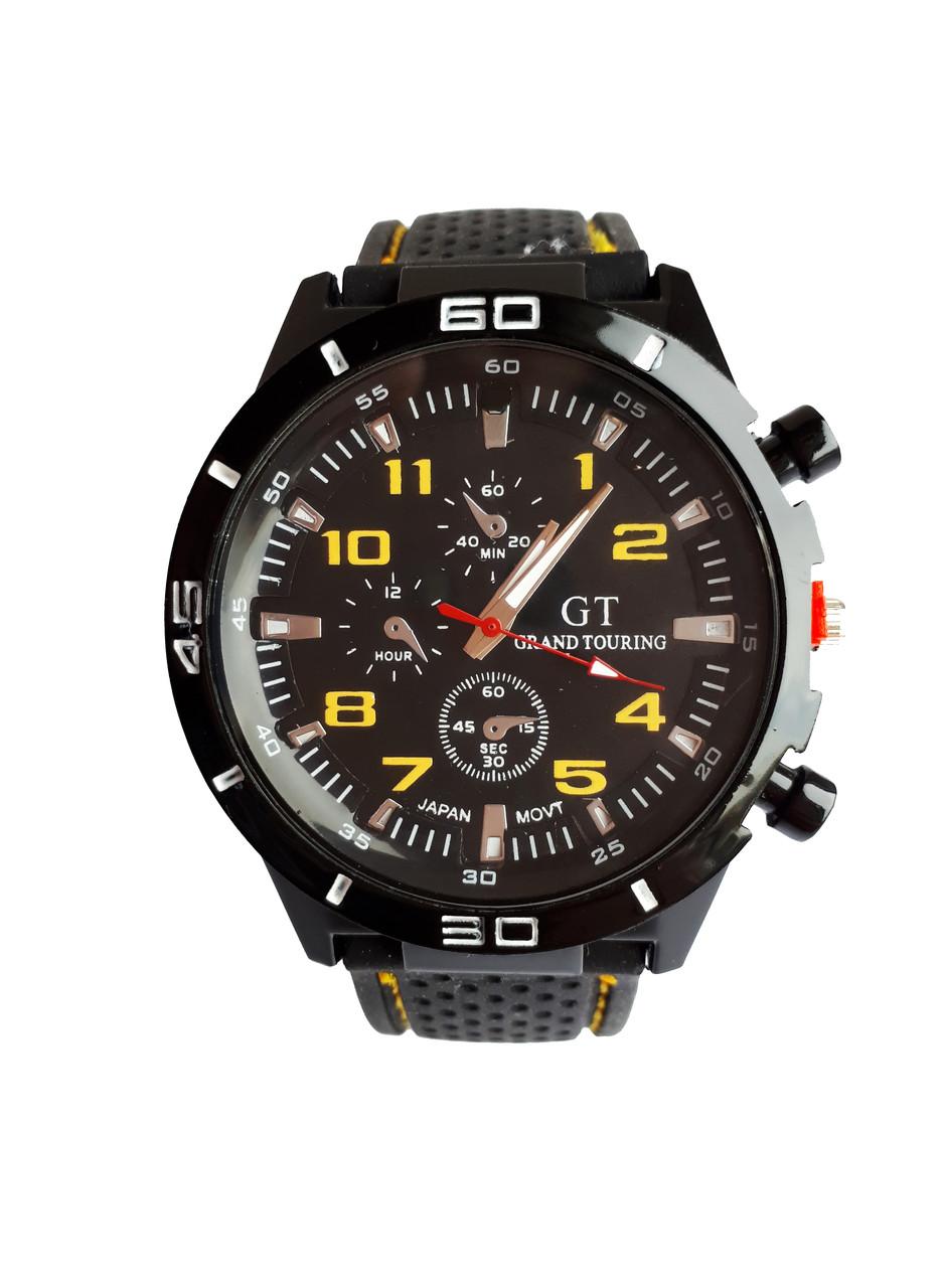 Часы молодежные мужские GT-200 Желтый