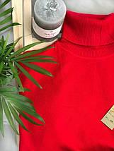 Гольф красный шерстяной женский Milano Zone кашемировые Милано и манжетами 46 48 50, фото 3