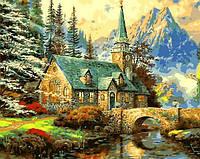 Картина для рисования по номерам Пейзаж Альпийский пейзаж 40х50см Mariposa Turbo