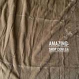 """Покрывало плед  - """"Шиншилла""""  Размер: 220*240 см. Мягкое меховое покрывало. Цвет - Бежевый., фото 5"""