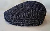 Кепка мужская в ёлочку из драпа воьмиклинка 56 57 58 59 60, фото 4
