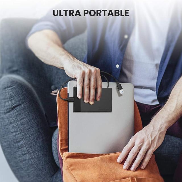 Внешний корпус для жесткого диска Ugreen (HDD/SSD карман) SATA 2.5
