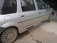 Боковые пороги Dacia Logan MCV