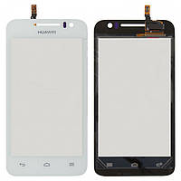 Touchscreen (сенсорный экран) для Huawei Ascend G330D U8825D, белый, оригинал