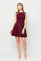 """Платье Karree """"Брют"""" приталенное расклешенное с гипюром (4 цвета, р.S, M, L)"""