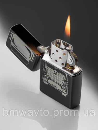 Зажигалка Mercedes-Benz Zippo Lighter, Trucker Edition 2019, фото 2