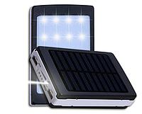 Портативное зарядное устройство 20000 mah Power Bank Solar 2 USB 9600 NP