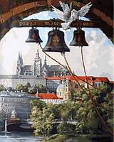 Картина раскраска Колокола Праги (VP865) 40 х 50 см DIY Babylon