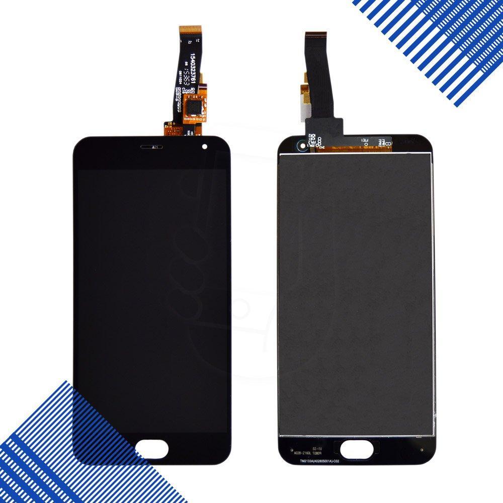 Дисплей Meizu M2, M2 mini с тачскрином в сборе, цвет черный