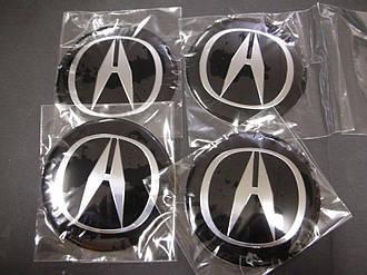 Наклейки на колпачкидлядисков Acura MDX RDX TLX ZDX