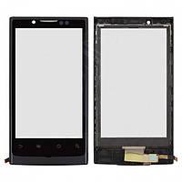 Touchscreen (сенсорный экран) для Huawei Ideos X6 Ascend X U9000, с рамкой, оригинал