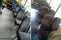 Замена настила пола салона автобуса Эталон