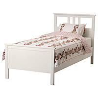 IKEA HEMNES (890.195.72) Кровать, белый, Lonset