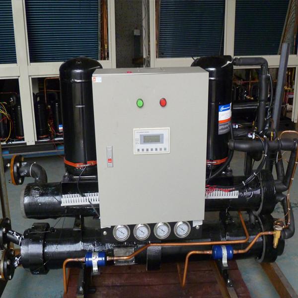 Тепловой насос  грунт-вода Clitech 133 кВт для отопления, ГВС