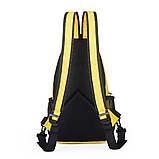 Сумка через плече c usb Sankey мини рюкзак городской черный  Код 13-7155, фото 7