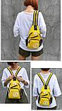 Сумка через плече c usb Sankey мини рюкзак городской черный  Код 13-7155, фото 10