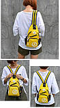 Сумка через плече c usb Sankey мини рюкзак городской черный  Код 13-7179, фото 10