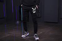 Зимние мужские спортивные штаны, мужские штаны на флисе, зимові чоловічі штани Playboy, Реплика