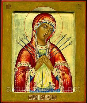 Писаная Икона Пресвятой Богородицы «Умягчение злых сердец»