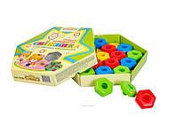 Развивающая игрушка Снежинка 20 элементов
