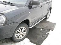 Боковые пороги Hyundai Tucson