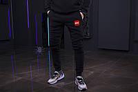 Зимние мужские спортивные штаны, мужские штаны на флисе, зимові чоловічі штани UFC, Реплика
