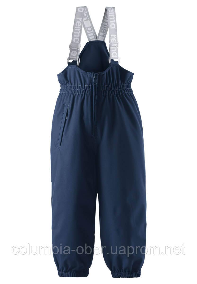Зимние брюки на подтяжках для мальчика Reimatec Juoni 522279-6980. Размеры 92 - 128.