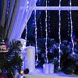 Гирлянда Водопад Alphatrade 3*1,2 м, 280 диодов, прозрачный провод, цвет синий, фото 2