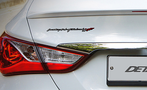 Эмблема Slim YF (Detail Part) для Hyundai Sonata YF