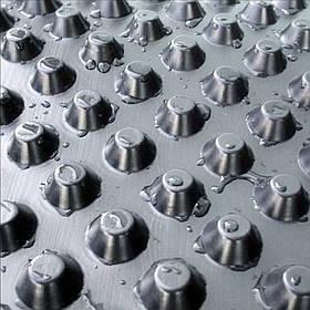 Шиповидная дренажная геомембрана Изолит - 06