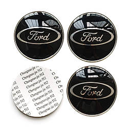 Наклейки на колпачкидлядисков Ford fiesta,B/C/S-max,Focus,Kuga,Edge,Mondeo, Mustang,F150,fusion,Explorer