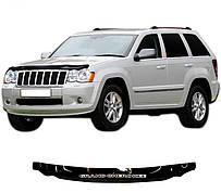 Дефлектор капота  Jeep Grand Cherokee с 2005–2010, Мухобойка Jeep Grand Cherokee (WK)