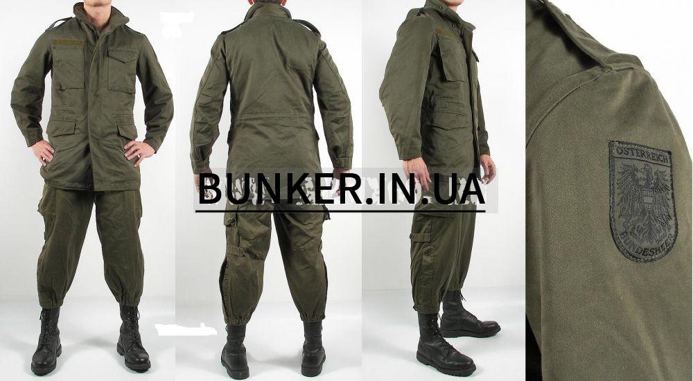 Оригинальный утепленный костюм армии Австрии новый олива