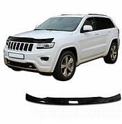 Дефлектор капота  Jeep Grand Cherokee с 2010, Мухобойка Jeep Grand Cherokee (WK2)