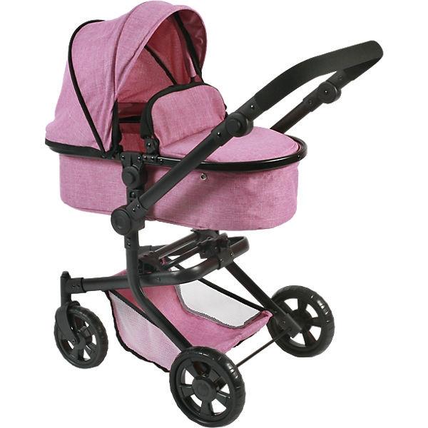 Коляска для кукол Bayer Chic Mika, цвет Jeans Pink