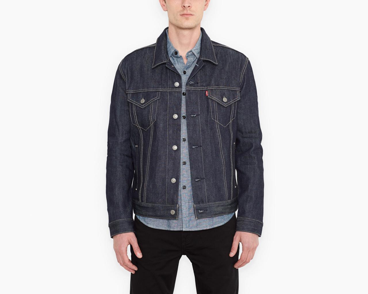 Куртка джинсовая LEVIS Denim Trucker Jacket (NEW FIT) rigid