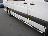 Боковые пороги Mercedes Sprinter New, фото 2