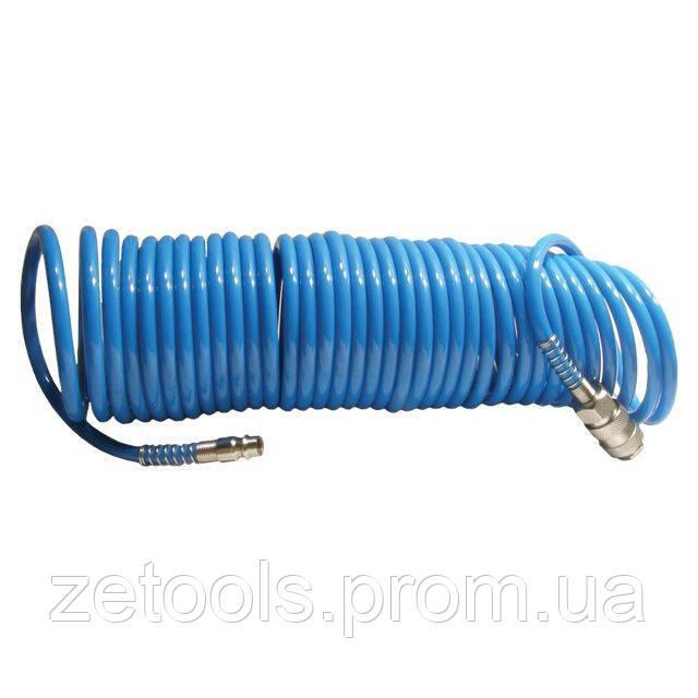 Шланг спиральный полиуретановый 5,5 x 8 мм, 5 м INTERTOOL PT-1706