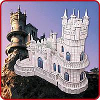 3D головоломка-конструктор CUBICFUN ЛАСТОЧКИНО ГНЕЗДО Сложность 4