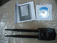 WiFi адаптер Alfa Sky с антеной 12dbi 300mbit , фото 1