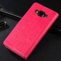 Чехол книжка Flip Cover orig. для Samsung A500H Galaxy A5 розовый