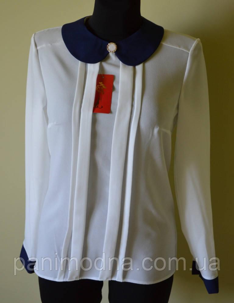 """Женская блуза """"Фирменный воротник"""" от производителя"""