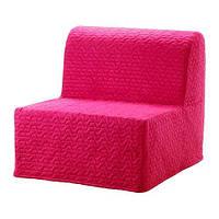 IKEA ЛИКСЕЛЕ МУРБО Кресло-кровать, Валларум пурпурный, (692.808.47)