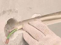 Укладка провода в готовом канале