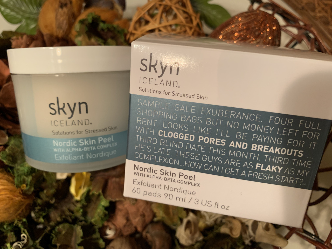 Очищающие диски-эксфолианты SKYN ICELAND Nordic Skin Peel
