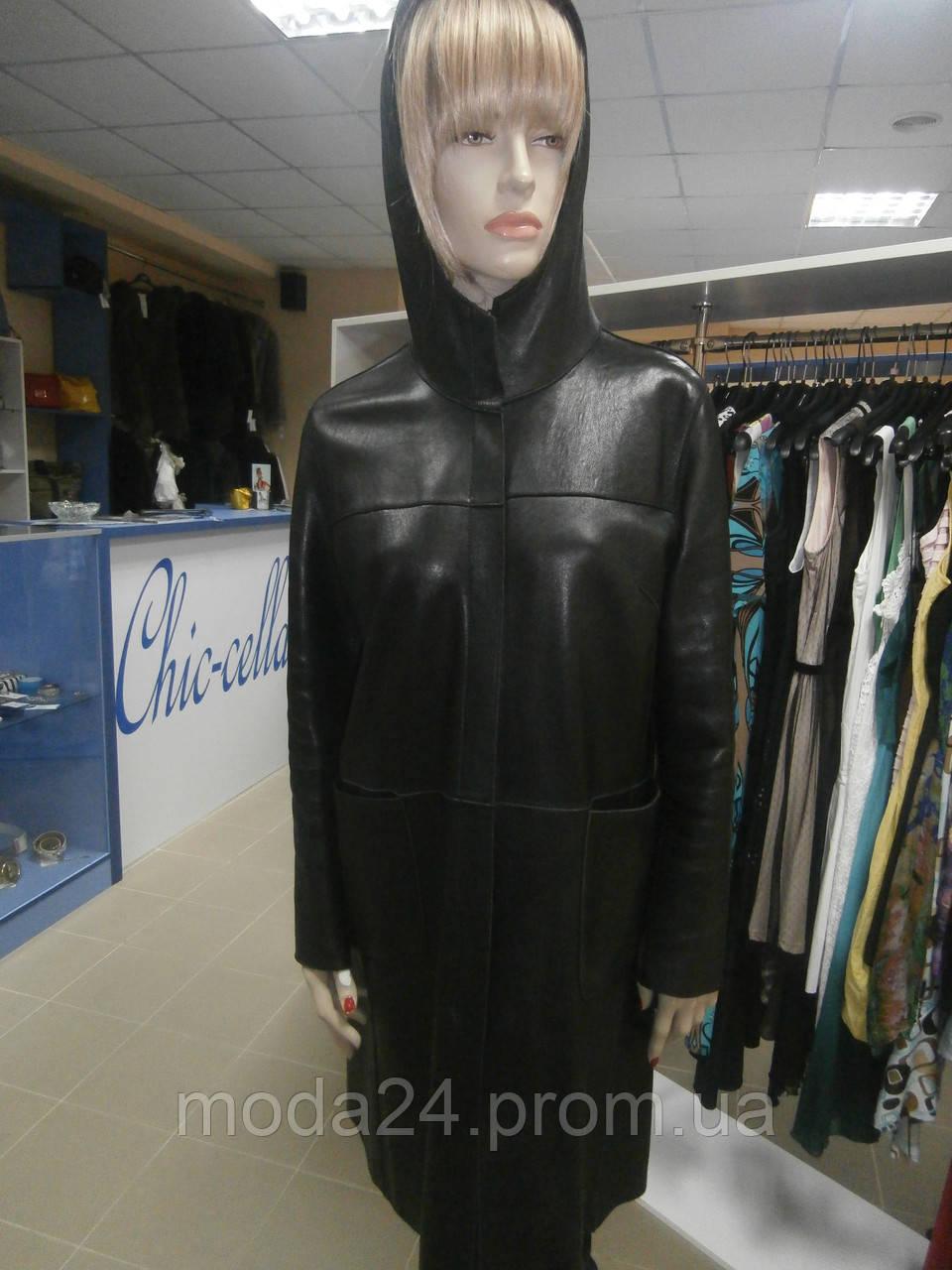 Кожаное женское одежда