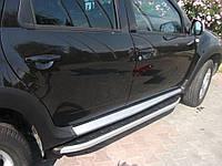 Боковые пороги Renault Duster