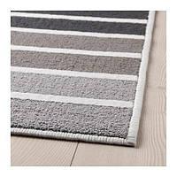 IKEA LUMSÅS Ковер, короткий ворс, серый, разноцветный, 120x180 см, (003.914.71)