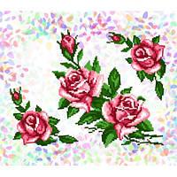 """Водорастворимый флизелин с рисунком """"Confetti"""" (K 213 Розы)"""